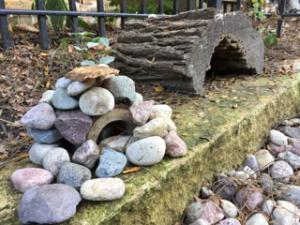rocks as blocks